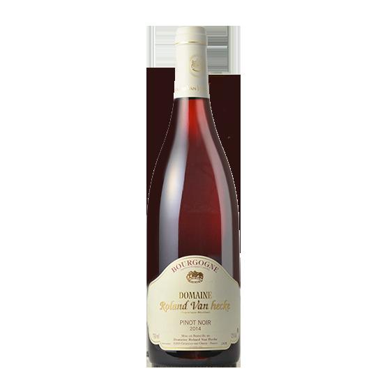 pinot noir vins de bourgogne du domaine roland van hecke grancey sur ource