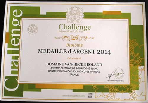 challenge_international_du_vin van hecke grancey sur ource cremant chatillonnais vins du chatillonnais bourgogne