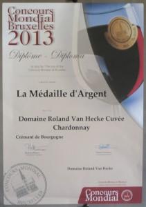 van hecke au concours_mondial_de_Bruxelles_2013